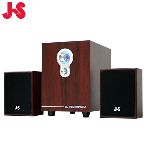 JS 淇譽 JY3080 2.1 聲道全木質多媒體喇叭【2.1聲道入門款