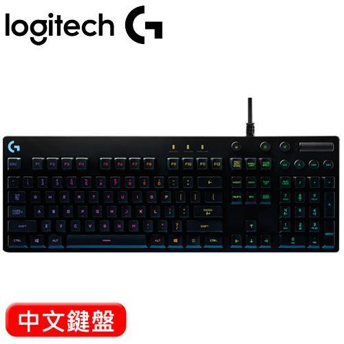 Logitech 羅技 G810 RGB 機械遊戲鍵盤【送G102電競滑鼠】