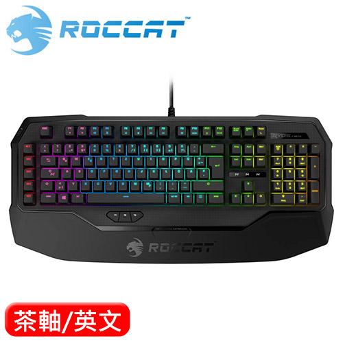 ROCCAT 冰豹 RyosMKFX RGB 機械鍵盤 茶軸