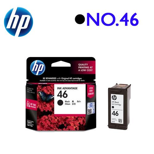 HP NO.46/CZ637AA 原廠墨水匣 (黑)