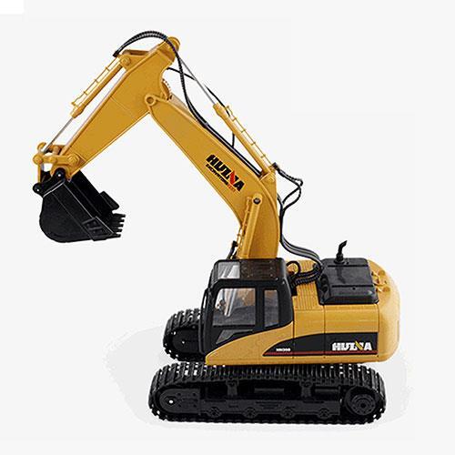 【網購獨享優惠】15通道2.4G遙控挖掘機超大推土機挖土機電動無線兒童玩具遙控車工程車