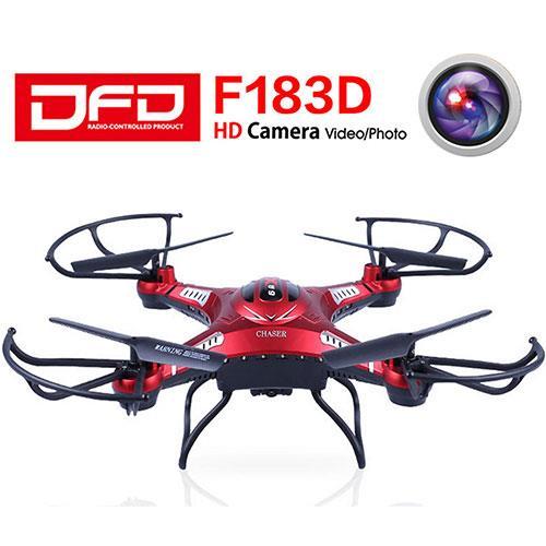DFD F183D 陀螺儀酷炫空拍飛航家-紅色