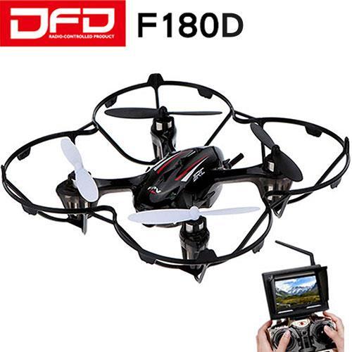 DFD 圖傳空拍飛行機F180D(FPV屏)