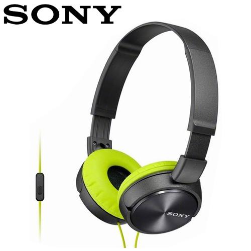 【公司貨-非平輸】SONY 索尼 MDR-ZX310AP 全系列智慧型手機線控耳罩式耳機 灰
