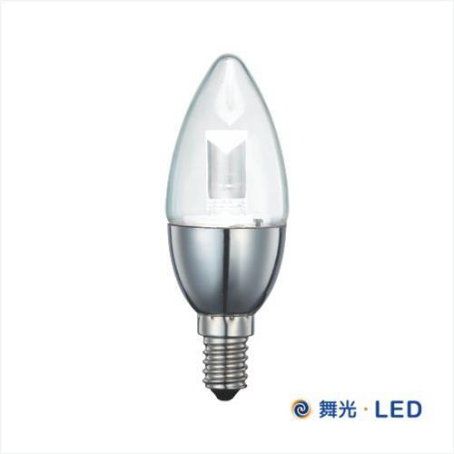 舞光 LED E14 水晶蠟燭燈 (銀座尖清)