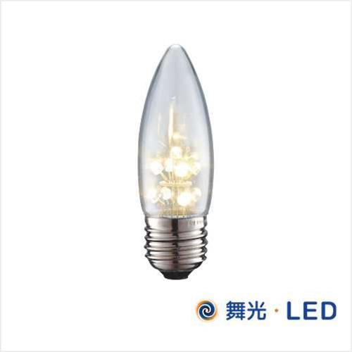 舞光 LED 超省電 E27 神明夜燈 (尖清/暖白)