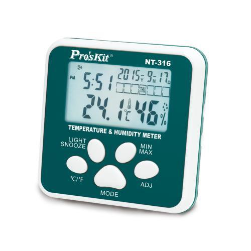 Pro'sKit寶工 數位溫濕度計 NT-316