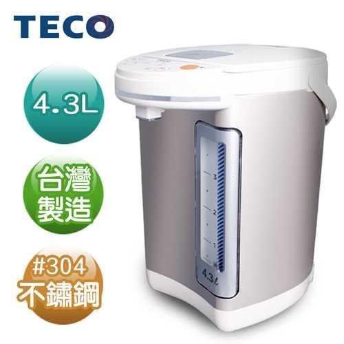 【TECO東元】4.3L電熱水瓶YD4301CB