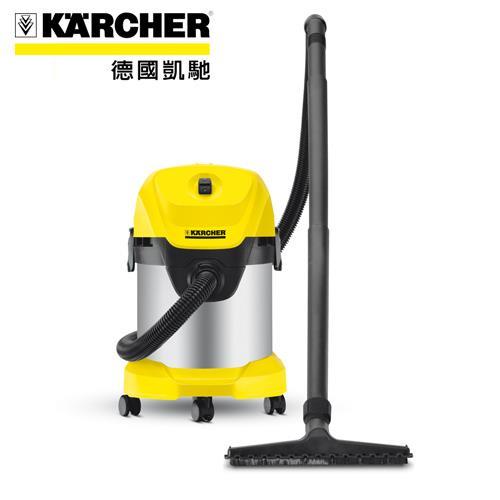 【網購獨享優惠】【德國凱馳 KARCHER】WD 3.300 乾溼兩用吸塵器