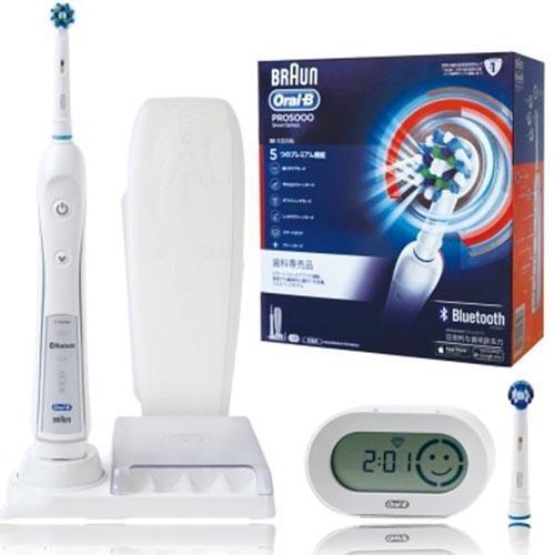 德國百靈歐樂B-全新升級3D藍芽電動牙刷  PRO 5000