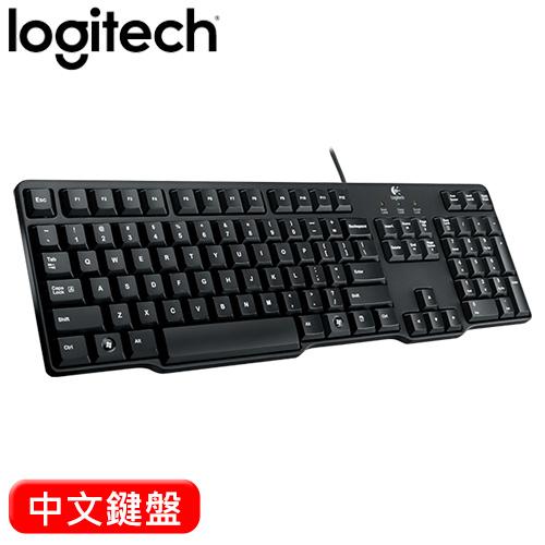 Logitech 羅技 K100 PS2有線鍵盤 -friDay購物