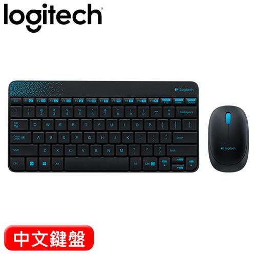 Logitech 羅技 MK240 2.4G 無線鍵盤滑鼠組 黑