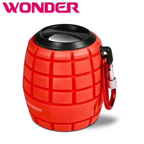 Wonder 旺德 WS-T016U 藍牙隨身音響 紅