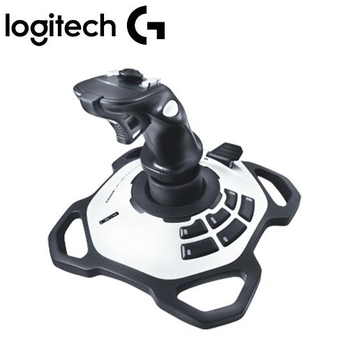 Logitech 羅技 閃靈鈦翼 搖捍控制器 旋轉握把12個可程式按鈕