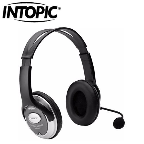 INTOPIC 廣鼎 JAZZ-358 頭戴式耳機麥克風