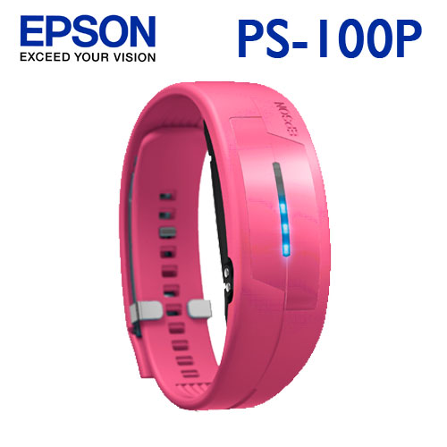 EPSON Pulsense PS-100P 粉紅 心率有氧教練(M/L)