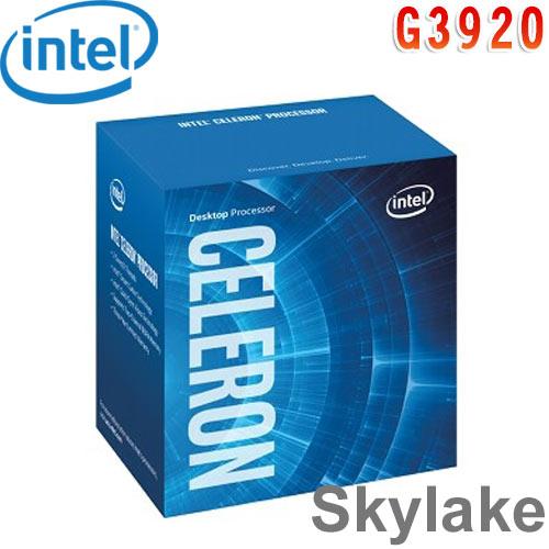 Intel英特爾 Celeron G3920 中央處理器