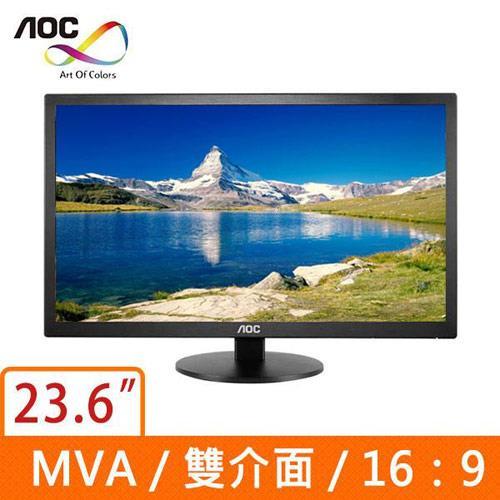 AOC  24型廣視角液晶螢幕 M2470SWD2