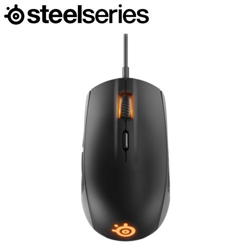 Steelseries 賽睿 Rival 100 RGB 電競滑鼠 黑
