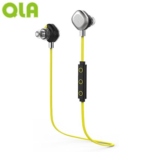 【網購獨享優惠】QLA BR939S 運動型雙耳立體聲藍牙耳麥-綠