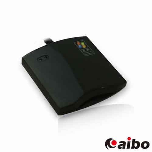 aibo IT-680U ATM網路轉帳/報稅專用 晶片讀卡機 - 鏡面黑