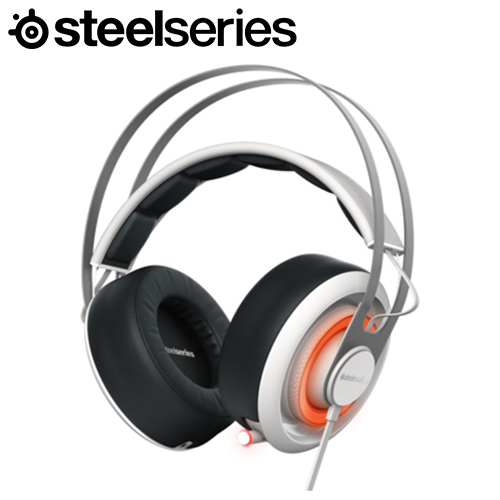 Steelseries 賽睿 Siberia 650 西伯利亞耳機麥克風 白