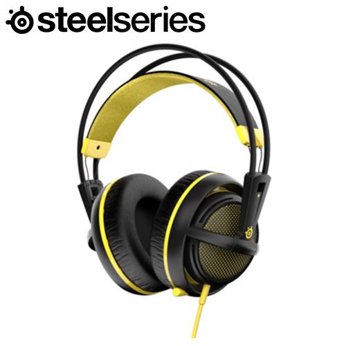 Steelseries 賽睿 Siberia 200 西伯利亞耳機麥克風 黃