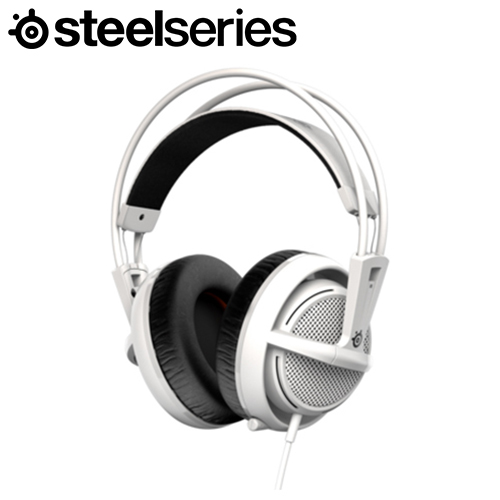 Steelseries 賽睿 Siberia 200 西伯利亞耳機麥克風 白