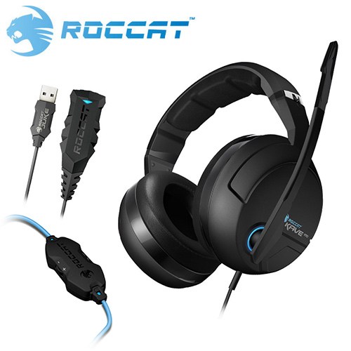 ROCCAT 冰豹 KAVE XTD 7.1 立體聲耳機麥克風
