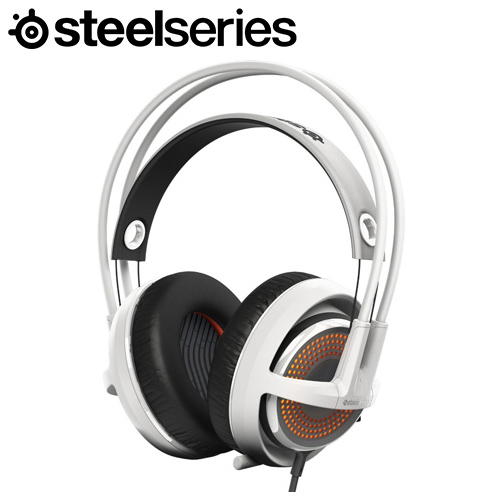 Steelseries 賽睿 Siberia 350 西伯利亞耳機麥克風 白