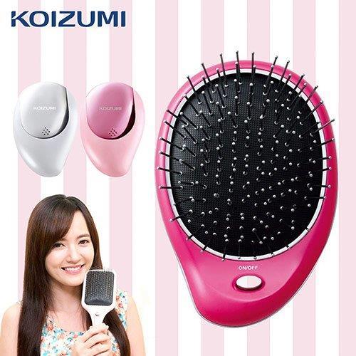 【KOIZUMI日本小泉】音波振動磁氣美髮梳(攜帶款附收納袋)KZB-0020