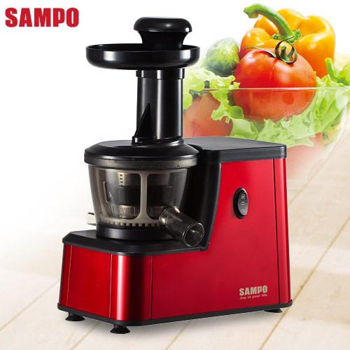 【SAMPO聲寶】蔬果原汁萃取雙軌慢磨機KJ-AB40S