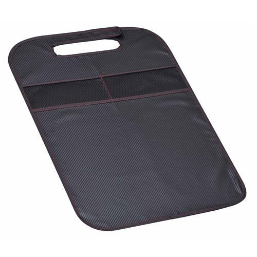 日本SEIWA 碳纖紋 椅背防汙收納袋 W879