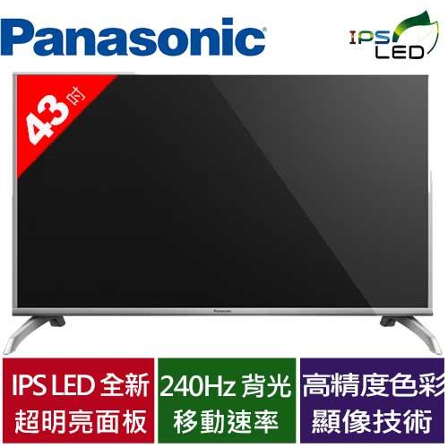 Panasonic 國際43型LED液晶電視 TH-43D410W
