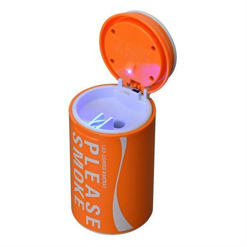 日本SEIWA 亮彩煙灰罐(橘) W888