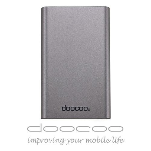 doocoo coherer 10000+ 雙輸出鋁合金 智能行動電源 (支援快速充放電) - 鐵灰色