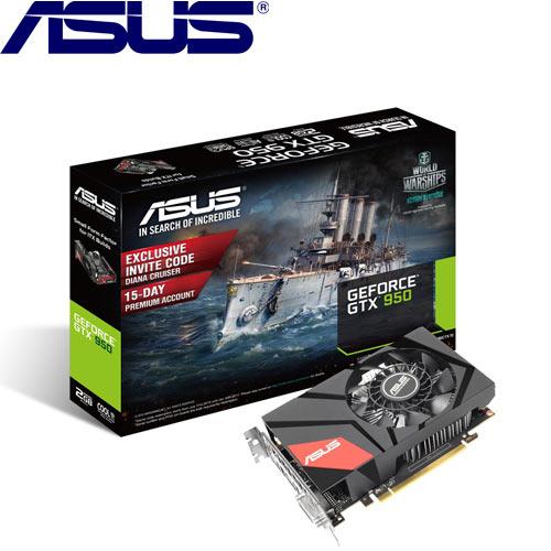 【限時搶購-限量】ASUS GeForce® MINI-GTX950-2G顯示卡