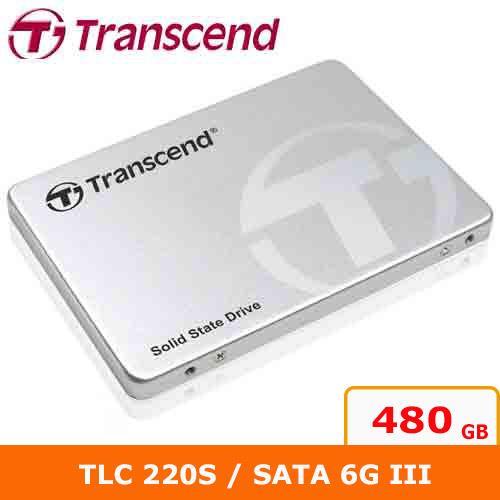Transcend創見 2.5吋 220S 480G SATA3 SSD 固態硬【原價:4199▼再送三好禮】