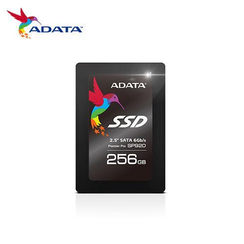 【網購獨享優惠】 ADATA 威剛 Premier Pro SP920 256GB 2.5吋 SATA3 固態硬碟