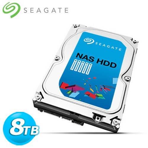 Seagate 3.5吋 8TB SATA3 NAS專用 內接硬碟