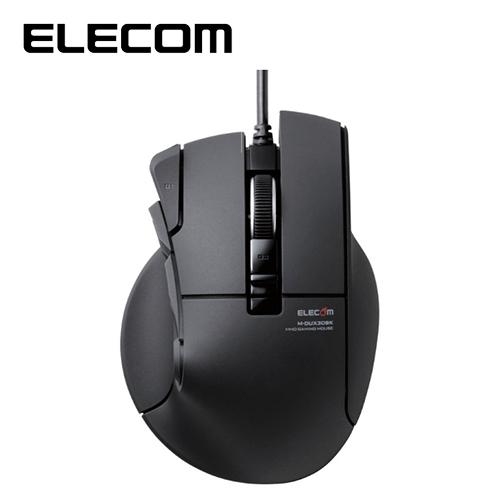 ELECOM DUX MMO遊戲滑鼠 (10按鍵)