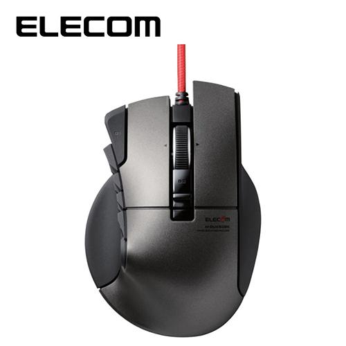 ELECOM DUX MMO遊戲滑鼠 (14按鍵 四向滾輪)