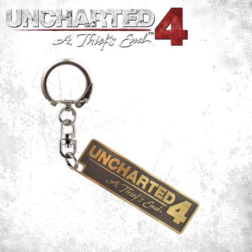 PS4 周邊 秘境探險4:盜賊末路 古銅金屬鑰匙圈