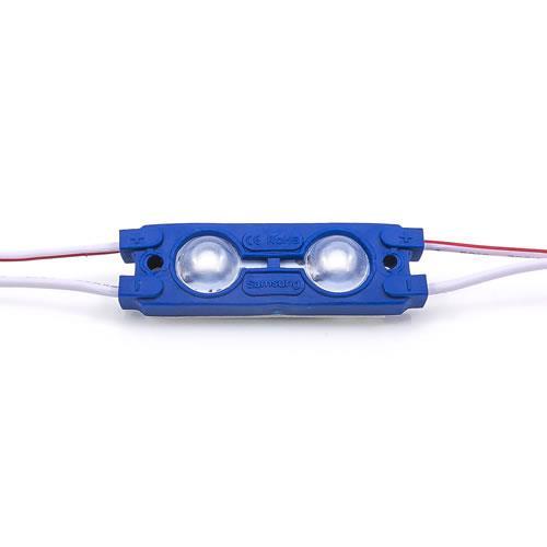 5630 LED魚眼 2燈長形模組(藍光) 50-55lm