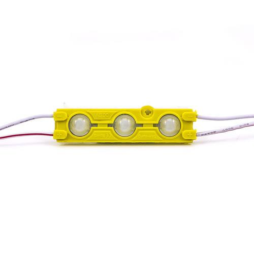 5630 LED魚眼 3燈長形模組(橙光) 50-55lm