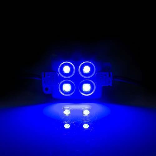 5630 LED 4燈方形模組(藍光) 50-55lm