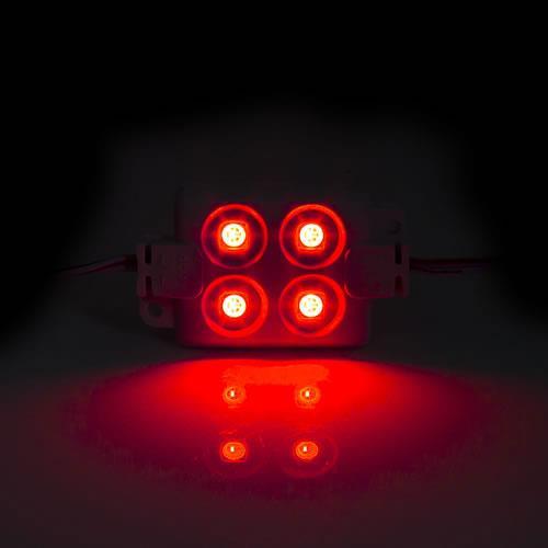5630 LED 4燈方形模組(紅光) 50-55lm