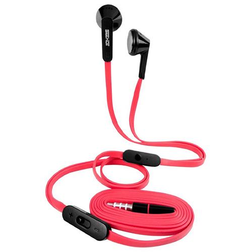 SeeHot 嘻哈 S600 立體聲有線耳塞式耳機 紅