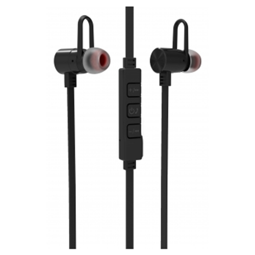 SeeHot 嘻哈 052BM V4.1 雙待機鋁合金 運動藍牙耳機 黑