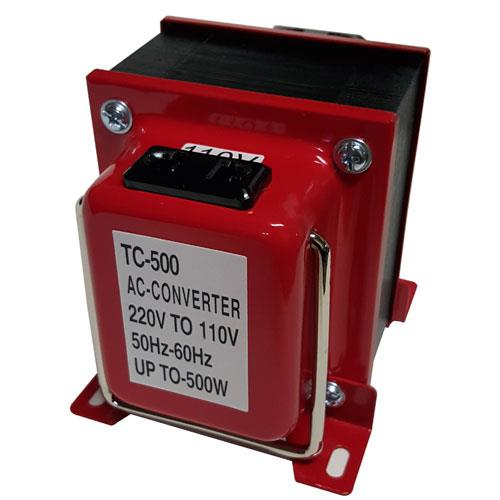 【網購獨享優惠】AC110V <-> AC220V 雙向變壓器 (TC-500)